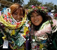 graduation leis hawaii graduation tradition adopted in alaska