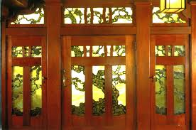 glass front house stained glass internal doors stained glass front doors examples