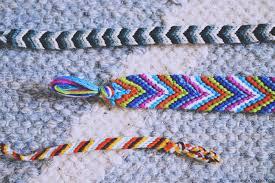 bracelet patterns with string images Chevron friendship bracelet tutorial kollabora craft party JPG