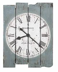 huge wall clocks large wall clocks weathered uneven wood panel white dial wall