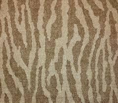 ballard design nomad zebra animal print beige upholstery fabric by