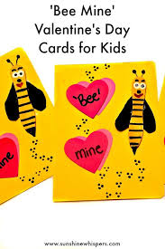 day cards for kids adorable bee mine s day cards for kids