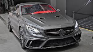 mercedes s63 amg black mercedes s63 amg cabrio mansory black edition driving sound