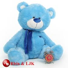 Soft Blue Color Blue Color Teddy Bear Blue Color Teddy Bear Suppliers And