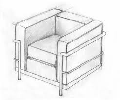 le corbusier u0027s iconic chair in pallet wood concrete pipe