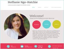 Online Resume Portfolio Examples by Career E Portfolios Career And Professional Development Sites