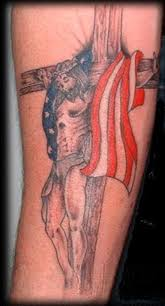 cross american flag tattoo design rebel flag tattoos american