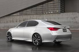 lexus sedan concept lexus reveals first official lf gh concept photos