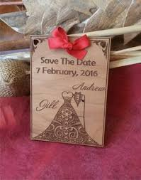 Save The Date Wedding Magnets 100 Customized Engraved Wooden Heart Save The Date Wedding Magnet