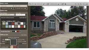 suggestions for exterior color with sherwin williams color visualizer