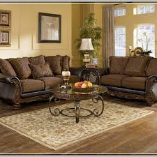 north shore living room set tan couch dark brown round feet twill