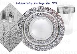 silver wedding plates top 5 wedding party disposable plastic plates inspiration