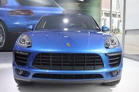 Porsche Macan Navy Blue - porsche macan world premiers at 2013 la auto show