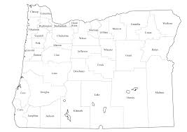 County Map Of Oregon graphics us states outline with county lines county names maps