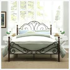 Vintage Bedroom Design Great Wrought Iron Bed Frame For Contemporary Vintage Bedroom
