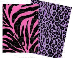animal print paper digital animal print pink zebra digital paper