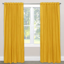 skyline linen blackout window curtain panel free shipping today