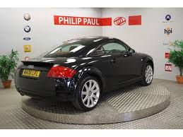 used audi tt coupe for sale used audi tt 2006 petrol 1 8 t 2dr 190 coupe black edition for