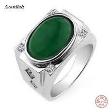 rings natural stones images Ataullah 925 silver ring jade natural stone rings for men real jpg