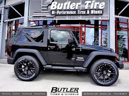 jeep rims black jeep wrangler with 20in black rhino moab wheels a photo on