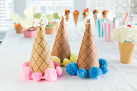 how to make ice cream cone party hats 10 tips for easy