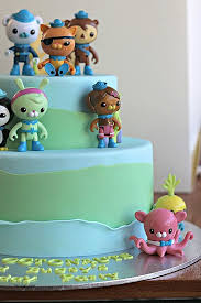 octonauts cake toppers birthday cakes octonauts birthday cake toppe hic cup