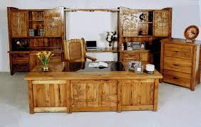 Solid Wood Executive Office Furniture by Amazing Of Office Wooden Furniture Solid Wood Office Furniture