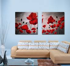 Paintings For Living Room Online Get Cheap Red Paintings Aliexpress Com Alibaba Group