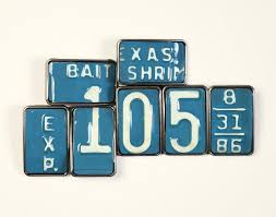 Interior Design License Texas License Tag Buckle U002786 Texas Bait Shrimp Howler Brothers