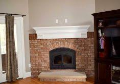 Mounting Tv Over Brick Fireplace by Mounting Tv Above Brick Fireplace Fireplaces