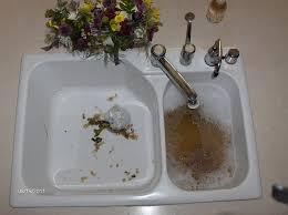 Kitchen Sink Garbage Disposal Clogged Amazing On Kitchen Regarding - Clogged kitchen sink with garbage disposal and dishwasher
