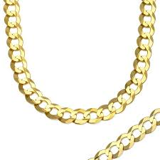 gold cuban necklace images Men 39 s 7 5mm miami cuban link chain necklace in 10k gold 24 jpg