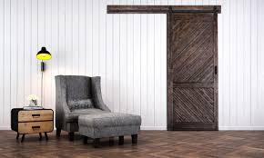 Closing The Barn Door by Gladstone Barn Door With Easy Glide Soft Close Renin