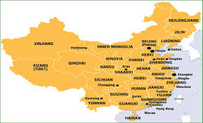 Shanghai China Map by Study Abroad In China Study Overseas In China