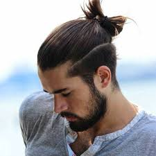 viking hairstyles for men undercut with bun hairstyles for men middle length vikings