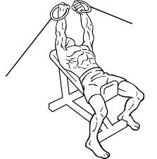 incline cable chest flys add one of our cable exercises to your