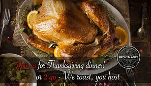 join provenance for thanksgiving dinner dine newport