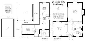 4 bedroom detached house for sale in green dene east horsley