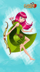 wallpapers arcer quen clash of archer lv 1 from clash of clans ilustrations pinterest video