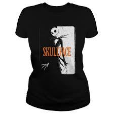 skull face halloween shirt hoodie