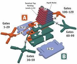 mco terminal map orlando airfares florida mco