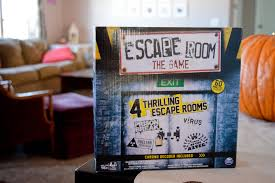 game night escape room our holly days
