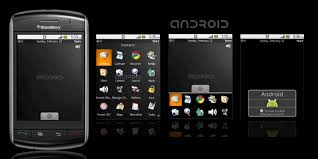 themes mobile black berry free android storm theme berryreview