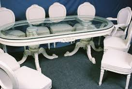 pick up dining tables and chairs here from our formal dining room