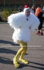 Halloween Chicken Costume Homemade Chicken Costume Kostüm Chicken Costumes