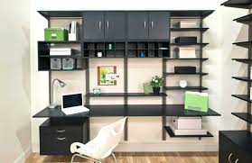 home office shelving solutions with adjustable shelves design