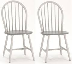 Painted Dining Chairs by Buy Vida Living Theo Windsor Painted Dining Chair Pair Online