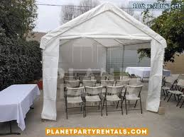 table and tent rentals 10ft x 20ft tent