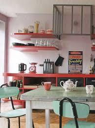 cuisine en formica cuisine vintage déco table formica rétro