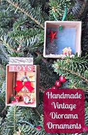 easy handmade ornaments shadow box edventures with